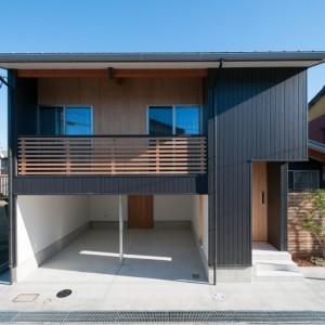 金沢市の北部に建設された注文住宅